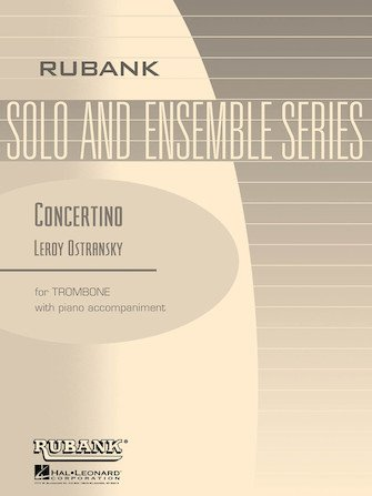 Ostransky, Leroy: Concertino for Trombone & Piano