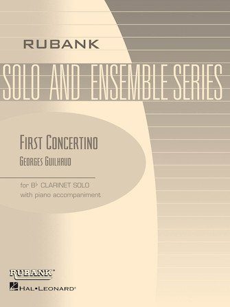 Guilhaud, Georges (trans. Voxman): First Concertino for Clarinet & Piano