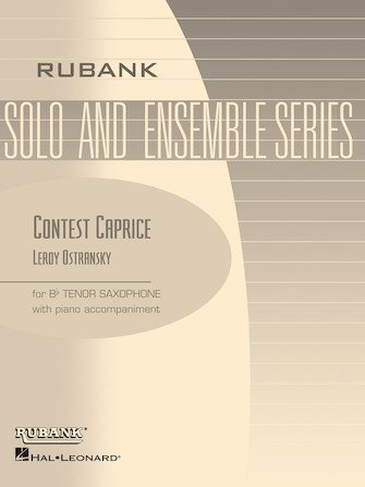 Ostransky, Leroy: Contest Caprice for Tenor Saxophone & Piano