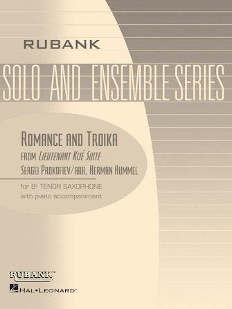 Prokofiev, Sergei (arr. Hummel): Romance and Troika from Lieutenant Kije Suite for Tenor Saxophone & Piano