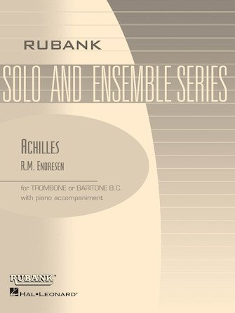 Endresen, R.M.: Achilles for Trombone or Baritone BC & Piano