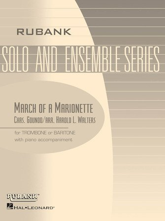 Gounod, Charles (arr. Walters): March of a Marionette for Trombone or Baritone & Piano