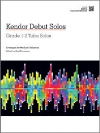 Kendor Debut Solos: Grade 1-2 Tuba Solos - Piano Accompaniment
