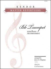 Kendor Master Repertoire for Bb Trumpet & Piano