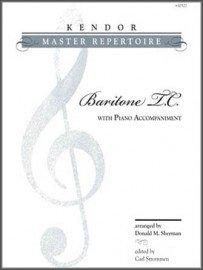 Kendor Master Repertoire for Baritone TC & Piano