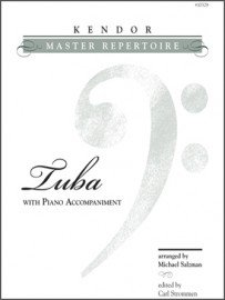 Kendor Master Repertoire for Tuba & Piano