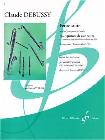 Debussy, Claude: Petite Suite for Clarinet Quartet