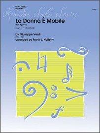 Verdi, Giuseppe (arr. Halferty): La Donna e Mobile for Clarinet & Piano