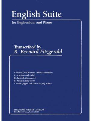 Fitzgerald, R. Bernard: English Suite for Euphonium & Piano