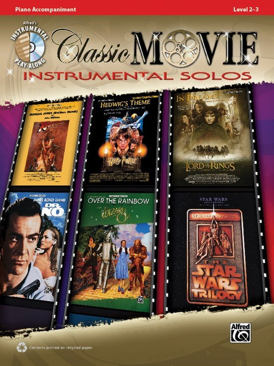 Classic Movie Instrumental Solos Play-Along