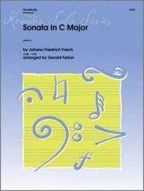 Fasch, Johann (arr. Felker): Sonata in C Major for Trombone & Piano