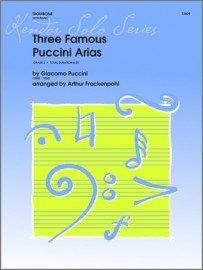 Puccini, Giacomo (arr. Frackenpohl): Three Famous Puccini Arias for Trombone & Piano