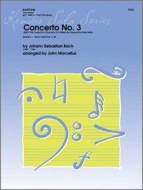 Bach, J.S. (arr. Marcellus): Concerto No. 3 for Baritone & Piano