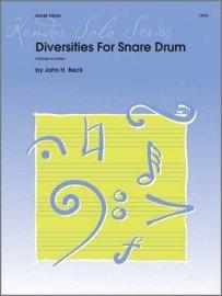 Beck, John: Diversities for Snare Drum