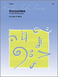 Beck, John: Encounters for Timpani