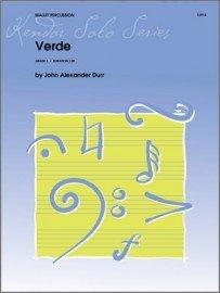 Durr, John: Verde for Mallet Percussion