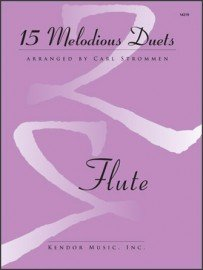 15 Melodious Duets for Two Flutes