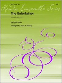 Joplin, Scott (arr. Halferty): The Entertainer for Clarinet Trio