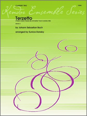 Bach, J.S. (arr. Dansby): Terzetto from Cantata No. 38 for Clarinet Trio