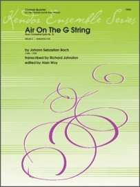 Bach, J.S. (trans. Johnston): Air on the G String for Clarinet Quartet