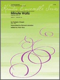Chopin, Frederic (trans. Johnston): Minute Waltz for Clarinet Quartet