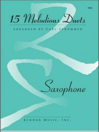 15 Melodious Duets for Saxophone