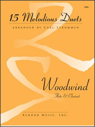 15 Melodious Duets for Flute & Clarinet