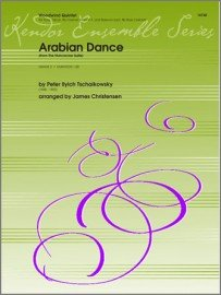 Tschaikowsky, P.I. (arr. Christensen): Arabian Dance from the Nutcracker Suite for Woodwind Quintet