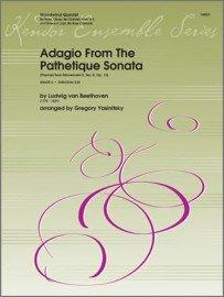 Beethoven, Ludwig (arr. Yasinitsky): Adagio from the Pathetique Sonata for Woodwind Quintet