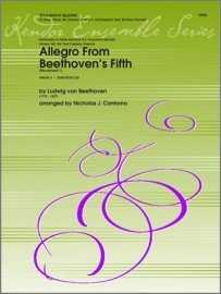 Beethoven, Ludwig (arr. Contorno): Allegro from Beethoven's Fifth for Woodwind Quintet