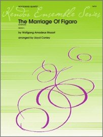 Mozart, W.A. (arr. Conley): The Marriage of Figaro Overture for Woodwind Quintet