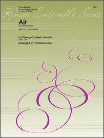 Handel, G.F. (arr. Evans): Air from Water Music for Brass Quintet