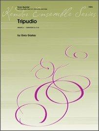 Gazlay, Gary: Tripudio for Brass Quintet