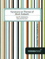 Ardovino, Lori: Variations on Themes of Black Sabbath for Solo Bass Clarinet