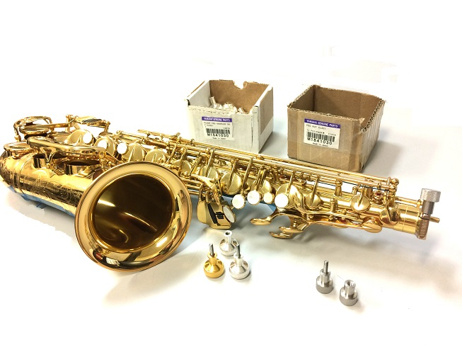 Ergonomic Heavy Mass Saxophone Neck Screws | Meridian Winds | Okemos, MI