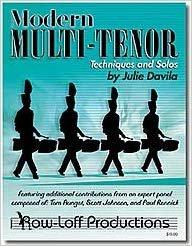 Davila, Julie: Modern Multi-Tenor Techniques and Solos