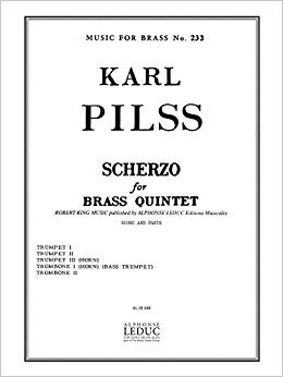 Pilss, Karl: Scherzo for Brass Quintet