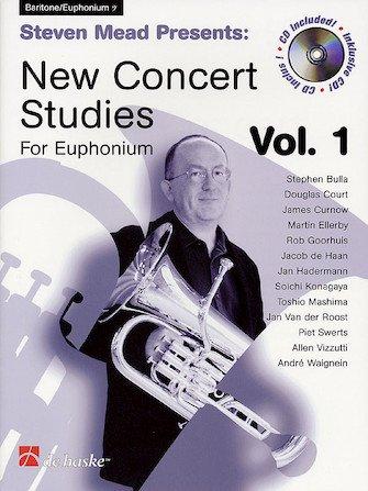 Mead, Steven (arr. Beringen): New Concert Studies for Euphonium Vol. 1 Bass Clef