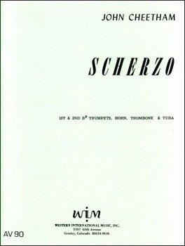 Cheetham, John: Scherzo for Brass Quintet