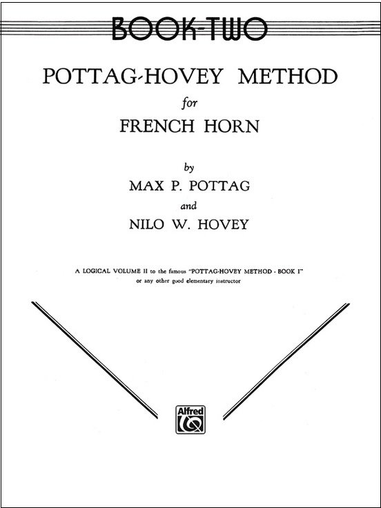 Pottag, Max & Hovey: Method for French Horn Book Two