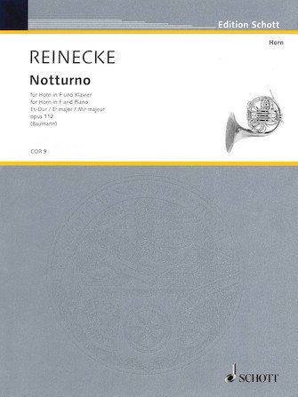 Reinecke, Carl: Notturno for Horn in F & Piano