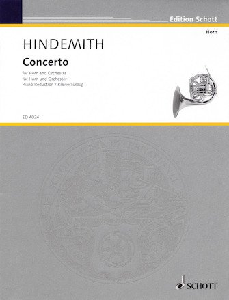 Hindemith, Paul: Concerto for Horn and Orchestra