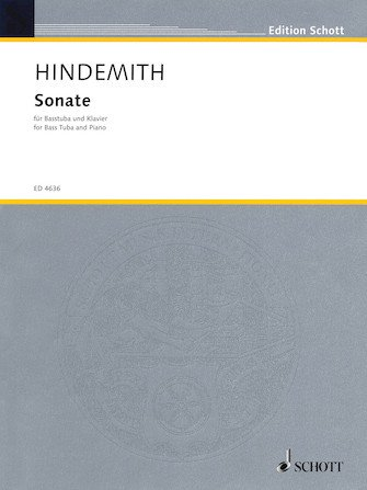Hindemith, Paul: Sonate for Bass Tuba & Piano
