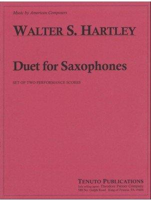 Hartley, Walter: Duet for Saxophones