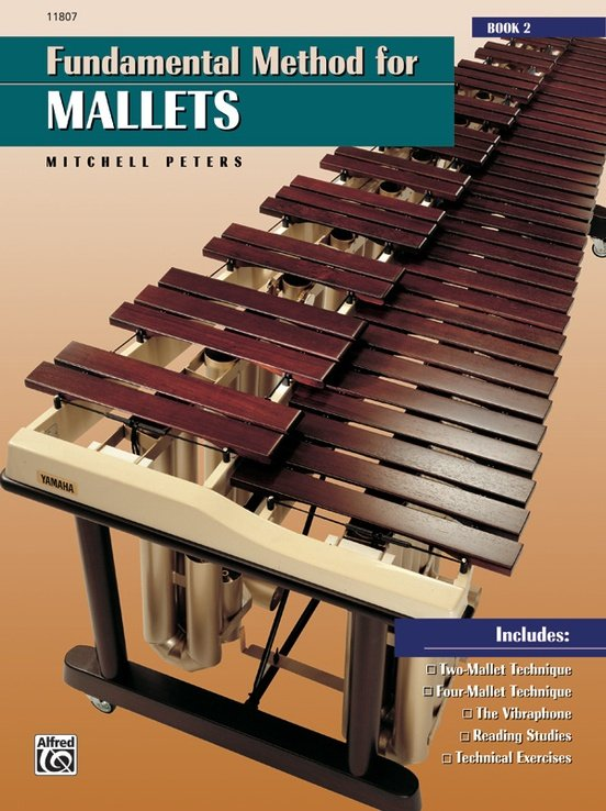 Peters, Mitchell: Fundamental Method for Mallets - Book 2