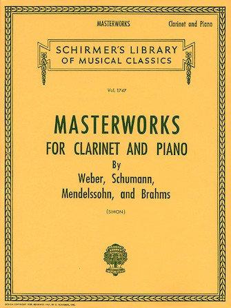 Masterworks for Clarinet & Piano