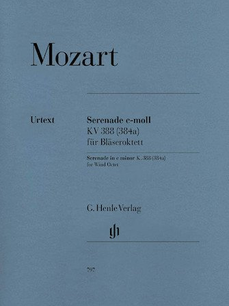 Mozart, W.A.: Serenade in C minor, KV 388 for Chamber Ensemble