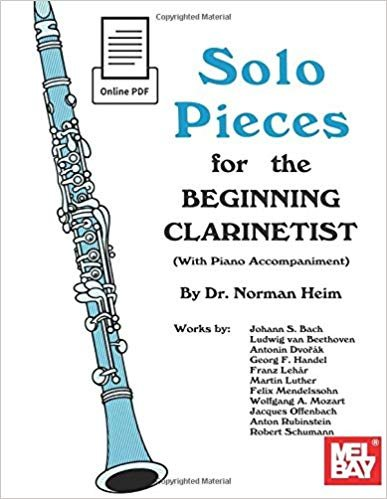 Heim, Norman: Solo Pieces for the Beginning Clarinetist