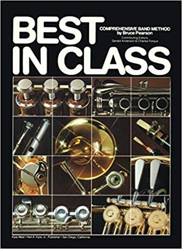 Pearson Bruce: Best In Class Book 2 - Comprehensive Band Method