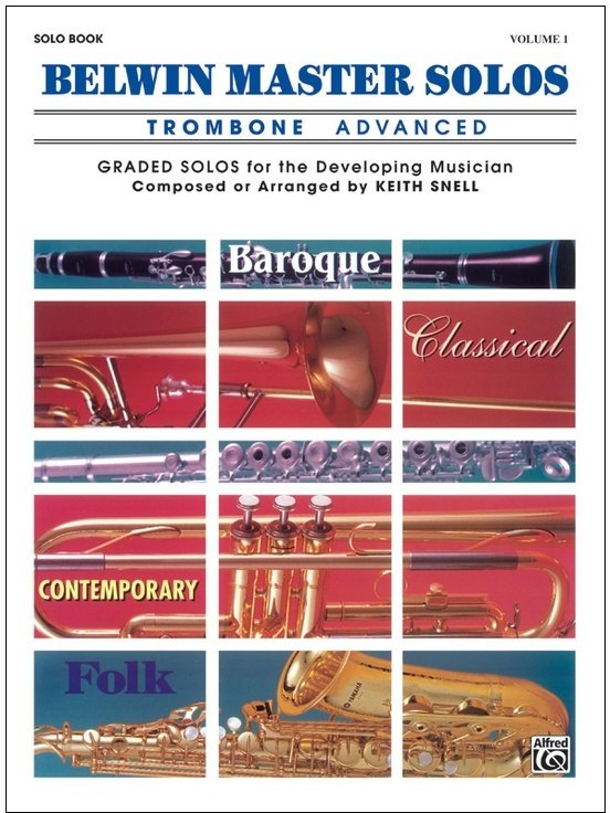 Belwin Master Solos Volume 1 - Trombone Advanced